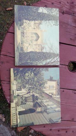 Zdjęcie obraz na desce ard deco vintage retro prl