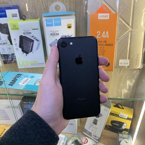 Apple iPhone 7 32 Neverlock Black! В хорошем состоянии Гарантия Айфон