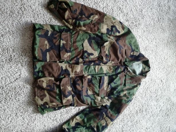Bluza U.S Army bdu woodland Large Regular Nowa plus gratis!!