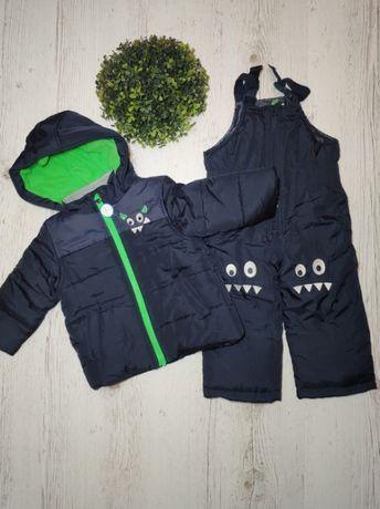 Зимний комбинезон, костюм Carters на мальчика 2Т