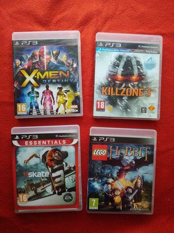 Gry Killzone 3 XMen Skate 3 LEGO Hobbit PlayStation 3 Ps3