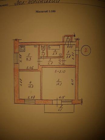 Продам 2-х кімнатну квартиру у центрі міста!