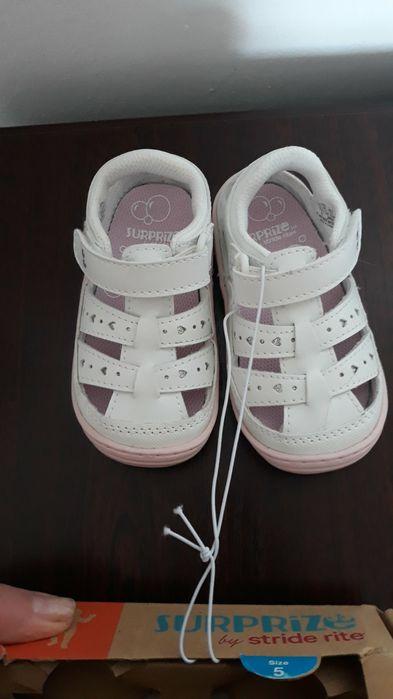 Кросівки для немовлят Surprise by Stride Rite Didi - білі Калуш - изображение 1