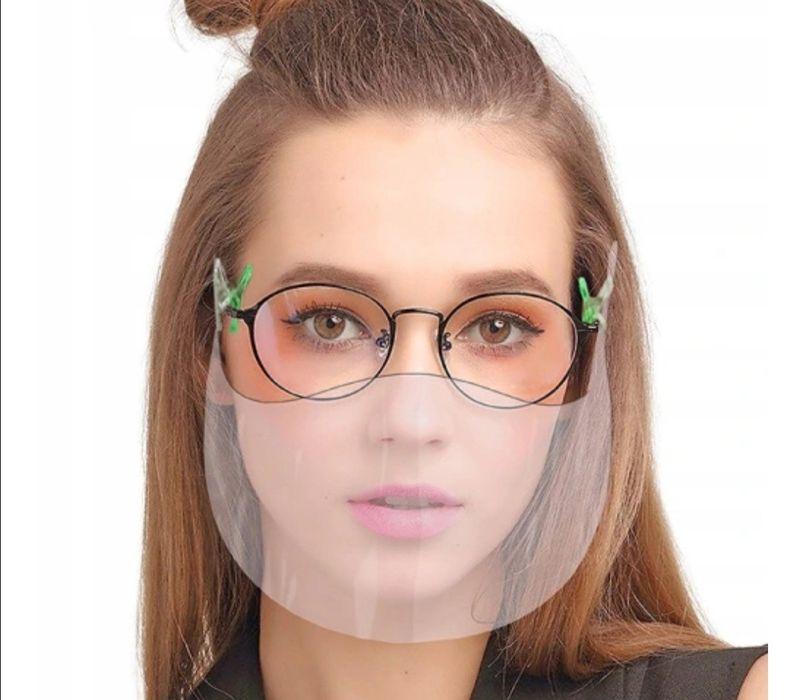 Mini Przyłbica mocowana na okulary Maseczka Ochronna Otwock - image 1