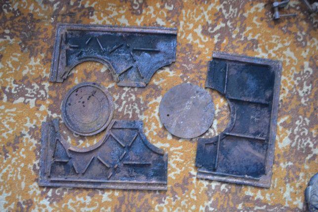 Płyta żeliwna składana