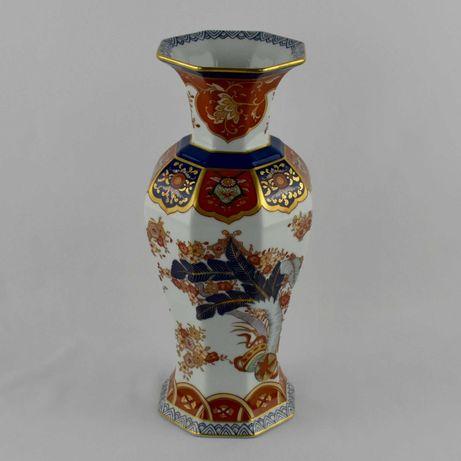Jarra Tomé, Porcelana Vista Alegre, decoração Samurai