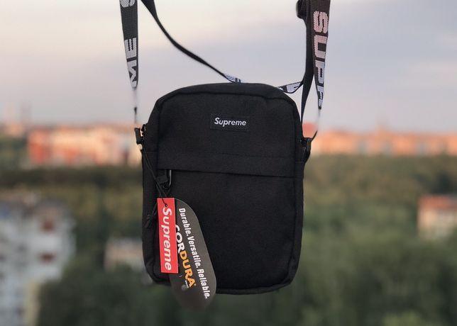 Мессенджер Supreme/сумка через плече/ бананка/ барсетка