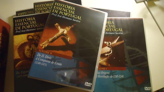 Colecção História Essencial de Portugal - 6DVD