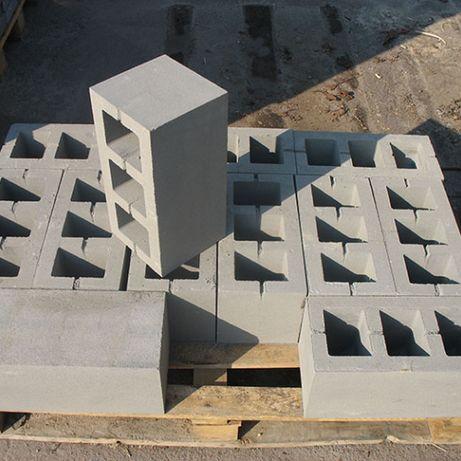 Блок Будівельний 390*190*190 Вібропрессованний.