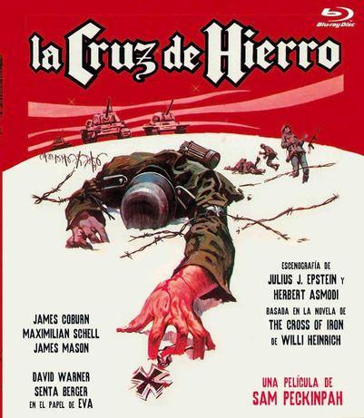 La Cruz De Hierro/A Grande Batalha(Blu-Ray)-Importado