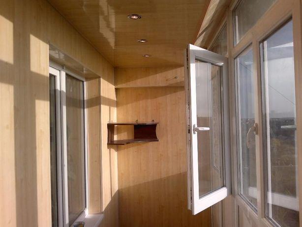 Обшивка Балкона.Утепление Балкона.Окна.Двери.Решетки.Расширеный Балкон