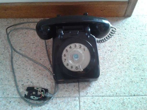 Telefone fixo Antigo em bom estado