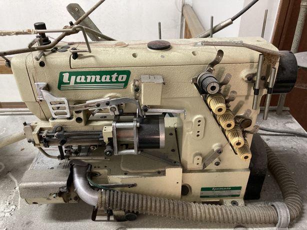 Yamato Maquina elasticos ou rendas com alimentador eletronico