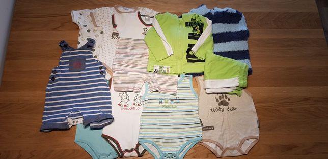 Ubrania dla chłopca (rozmiar 68/74)
