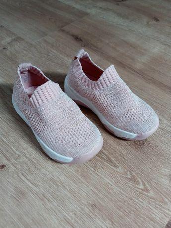 Różowe buty wkładane Nelli Blu 22