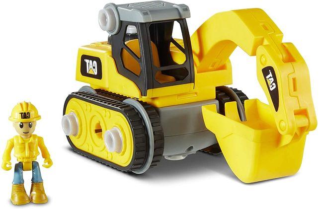 Игрушка-конструктор Экскаватор CAT Machine Maker 80903F