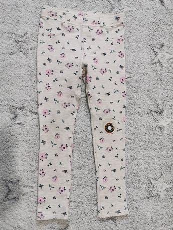 Getry spodnie treginsy 128 h&m