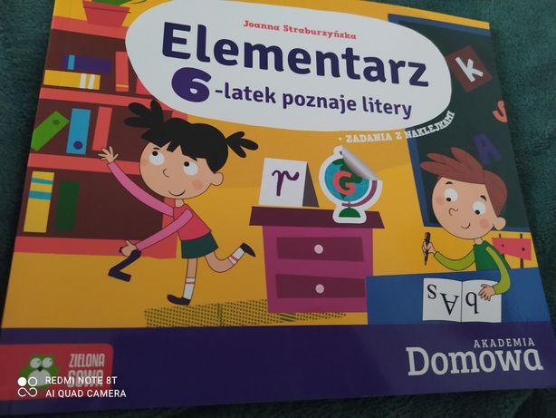 Książeczka Elementarz poznaje litery