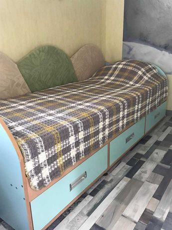 Комплект детской мебели, подростковая кровать шкаф компьютерный стол