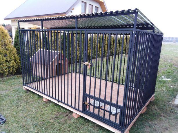kojec klatka 2x2 metry dla psa plus podłoga !