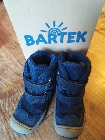 Buty zimowe Bartek r. 25, granatowe, bardzo wygodne