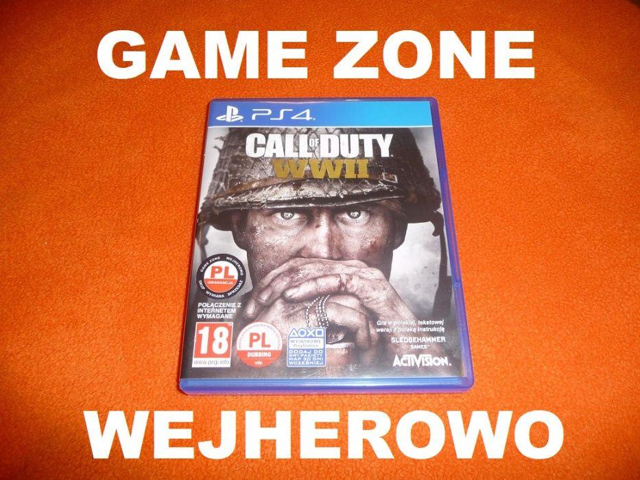Call of Duty WW 2 PS4 + Slim + Pro = PŁYTA PL Wejherowo Wejherowo - image 1