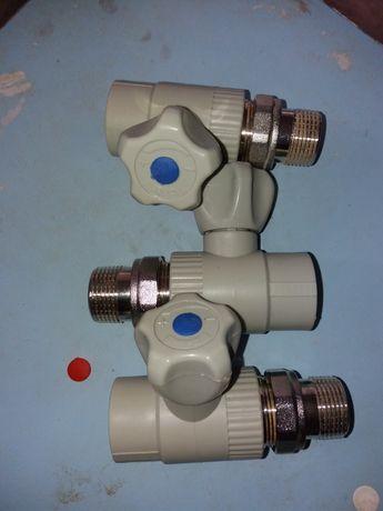 Кран радиаторный прямой FADO PPR 25x3/4
