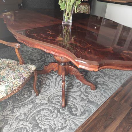 Stół i dwa fotele Ludwik