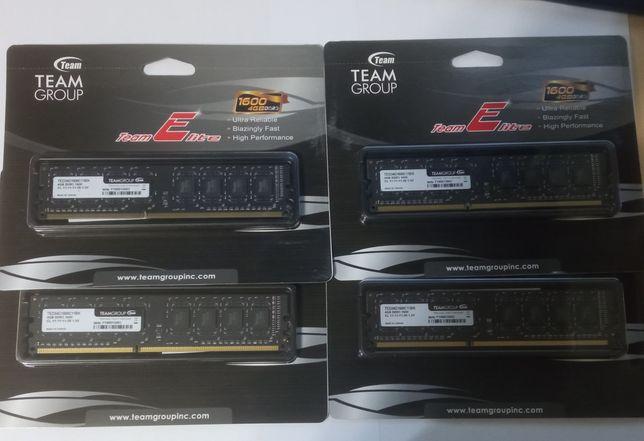 Оперативная память DDR3 4GB/1600 Team Elite (TED34G1600C11BK)