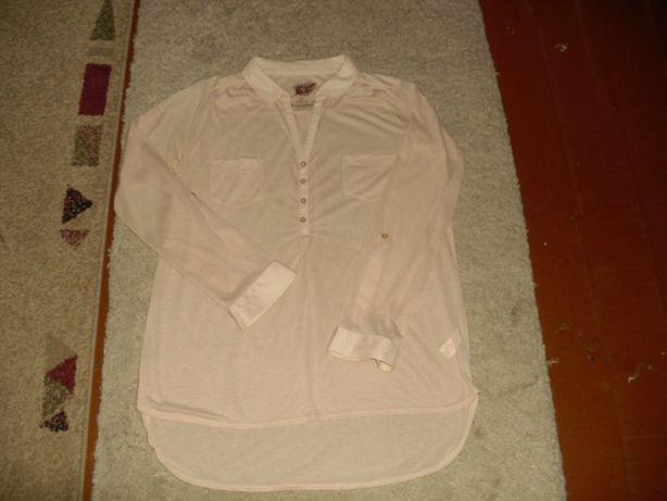 Bluzka koszulowa beżowa R.10(38), Atmosphere.
