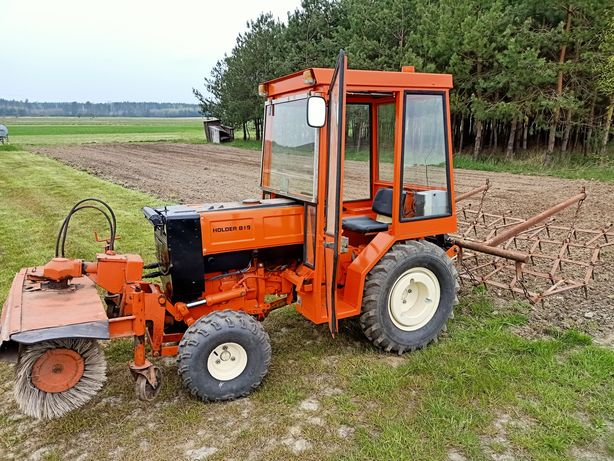 Mini traktorek Holder b 19 (Kubota) glebogryzarka