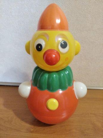 музыкальный клоун неваляшка 1982 года