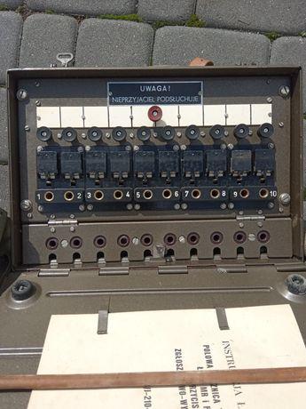 Łącznica polowa radiostacja militaria