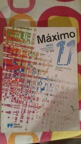Manual de MACS 11ºano - Máximo - Porto Editora