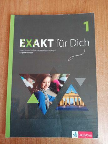 Exakt fur Dich 1 książka ćwiczeń język niemiecki