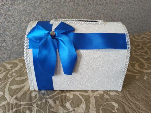 Свадебная шкатулка для денег + подарок