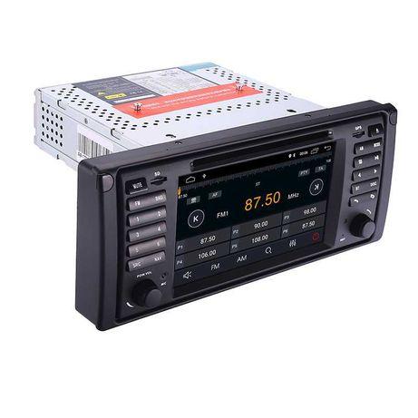Radio Nawigacja BMW 5 E39 ANDROID 10 2GB X5 E53 DVD 2DIN PL 24H