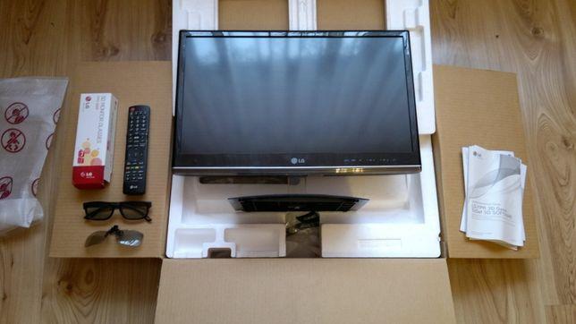 Telewizor 3D LED z funkcją monitora 23'' stan jak nowy Full HD