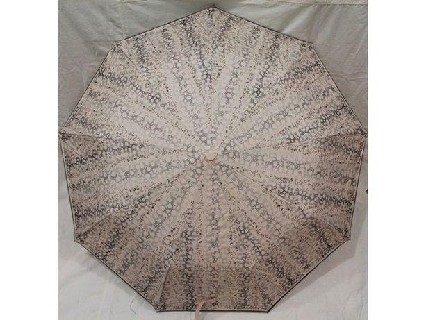Женский зонт полуавтомат 9 карбоновых спиц антиветер зонтик складной
