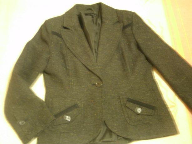 Blazer/ casaco cinzento escuro em fazenda - Vero Moda - 38