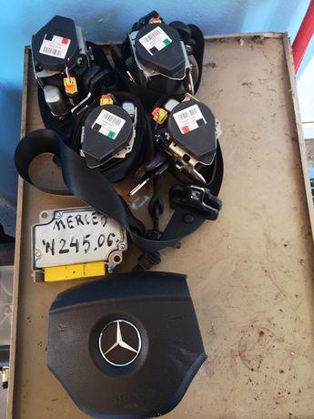 Pasy bezpieczeństwa Mercedes w245 B klasa