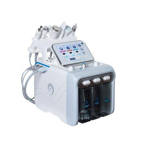 Косметологический комбайн аппарат водородного пилинга H2O2 6 в 1