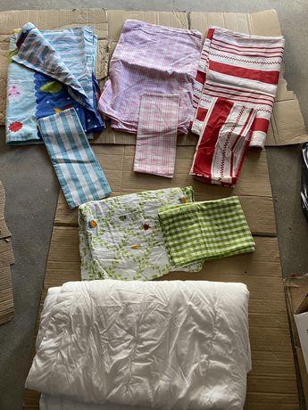 Lencois , resguardos , capas edredao , toalhas , cobertores crianca