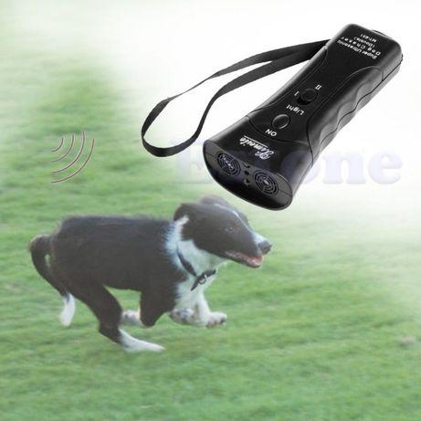 новый мошный ультразвуковой отпугиватель собак с лазерным прицелом