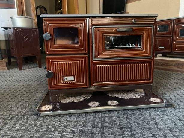 Дровяная печь кухня, камин, «евро буржуйка» DUVAL EK-103 F. АКЦИЯ!