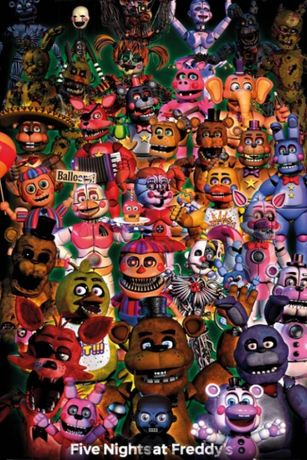 Posters novos Five Nights At Freddy's - Ultimate Group