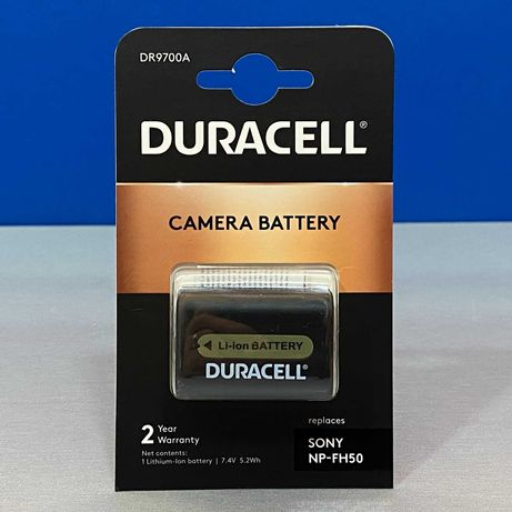 Bateria Duracell - Sony NP-FH50 (NOVA - 2 ANOS DE GARANTIA)