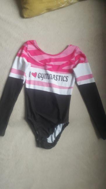 Gimnastyka strój rozmiar około 116 - 122. Brak metki. 4-6 lat