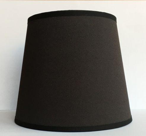 ABAŻURKI E27 grafit 13/17,5/15 cm do lampki nocnej,żyrandola. NOWE!