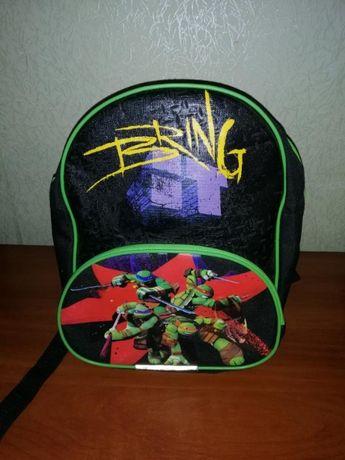 Рюкзак дитячий для хлопчика Черепашки ніндзя сумка портфель